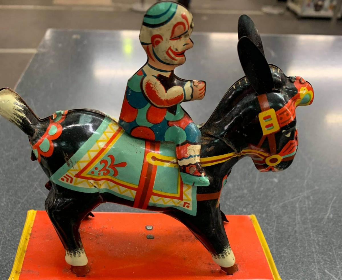 Police recover unusual toy collection