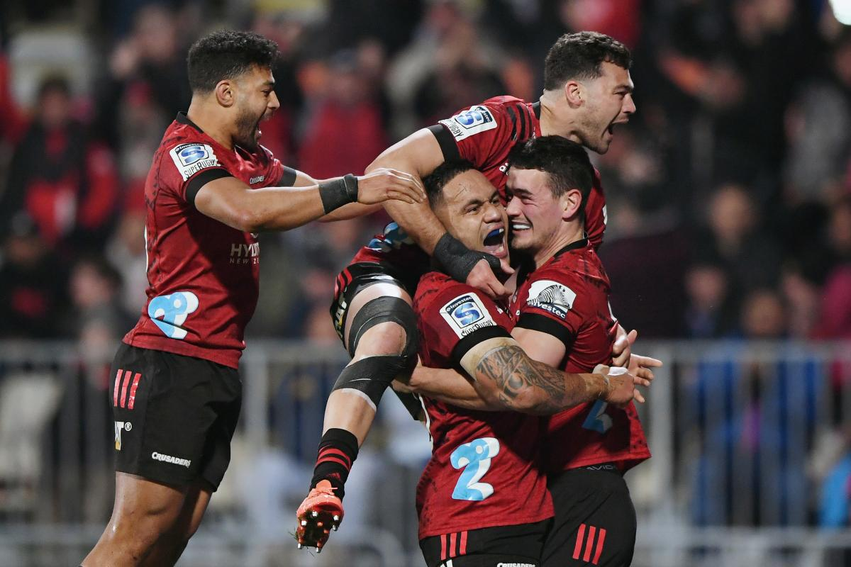 Crusaders storm back to beat Blues