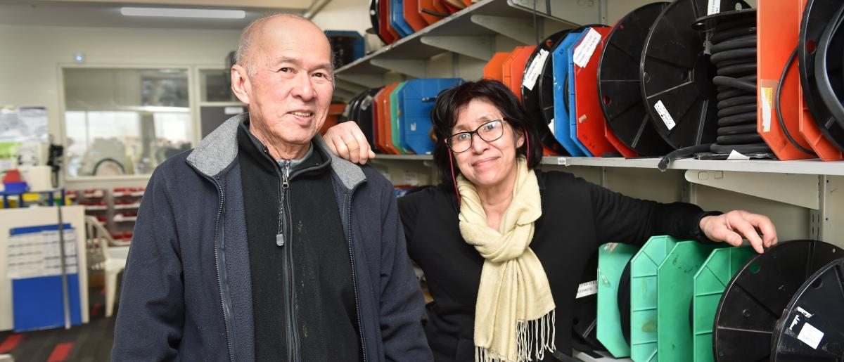 Rubber sellers open new Dunedin store