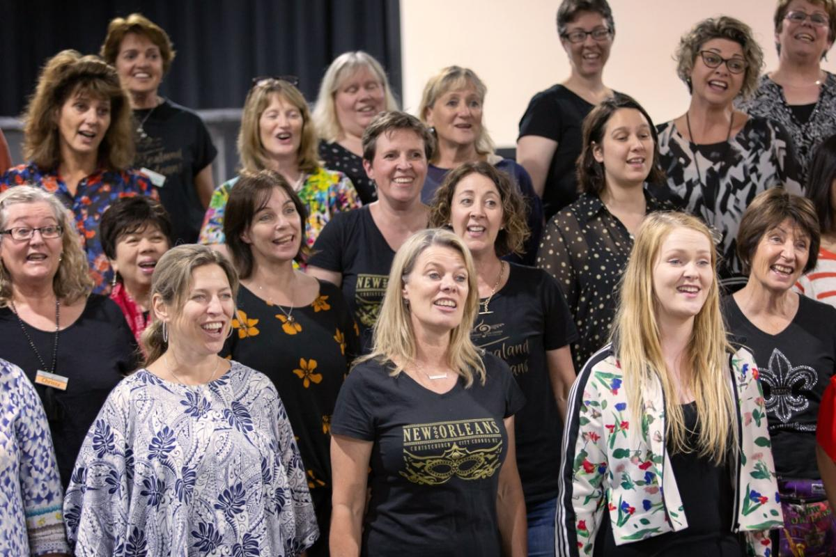 Christchurch City Chorus: The sound of friendship