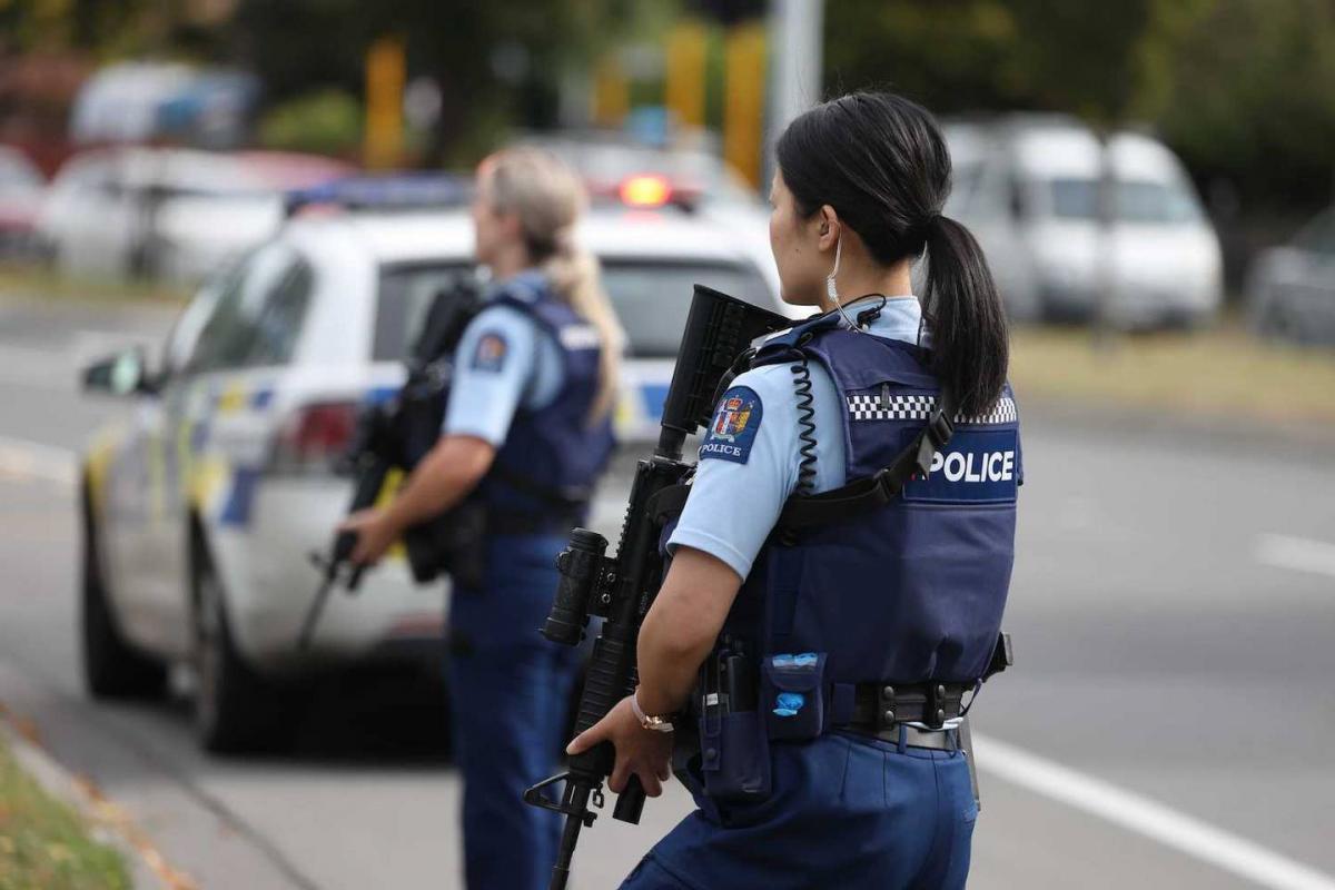 Alleged knife-wielder in custody after Christchurch standoff