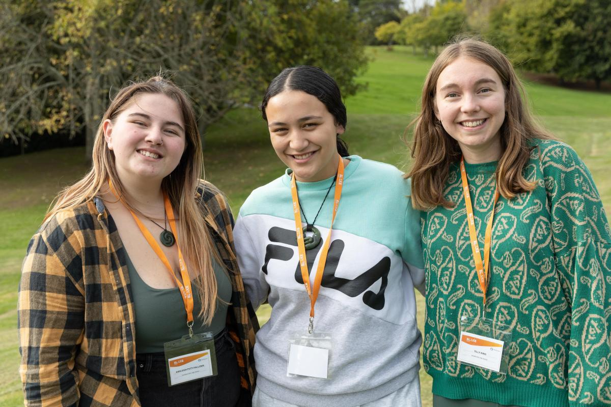Young environmental leaders head north