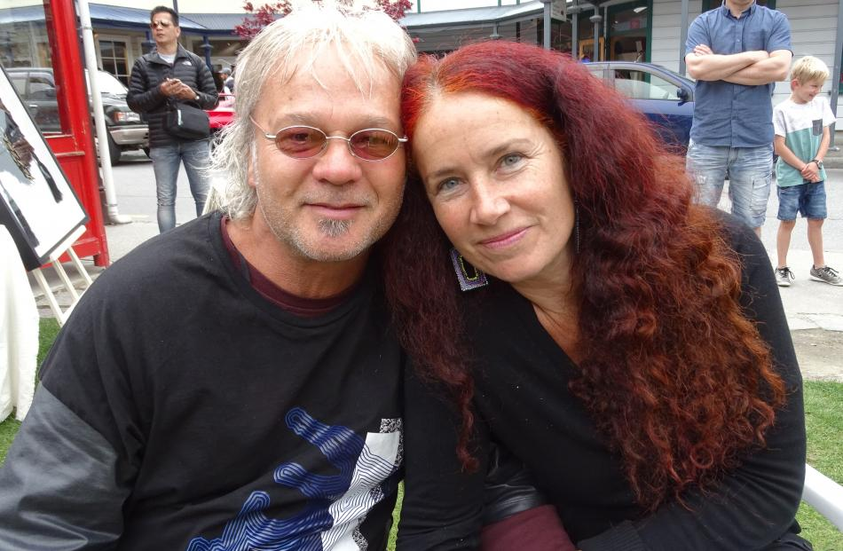Trevor Coleman and partner Ika Peuckert.