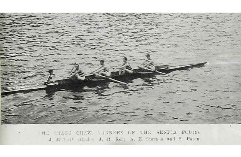 2eff0c022 The Otago crew which won the senior fours at the Otago Rowing Association s  annual regatta at