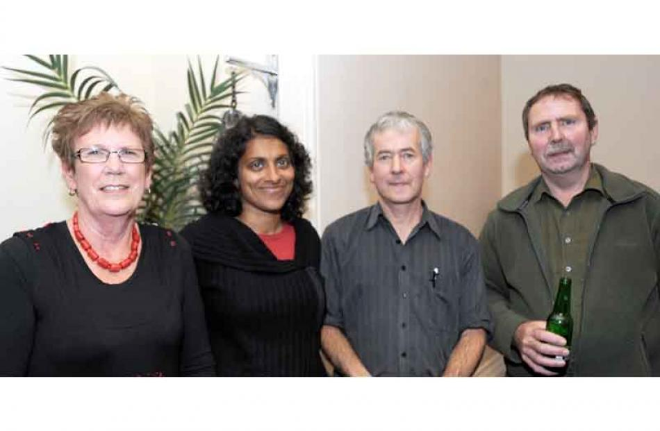 DCC staff members Marilyn Perry, transportation operations, Renuka Bayly, finance, Jim McQueen,...