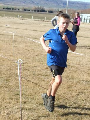 Stacey McKinnel, of Millers Flat, blitzes the field to win the year 8 section.