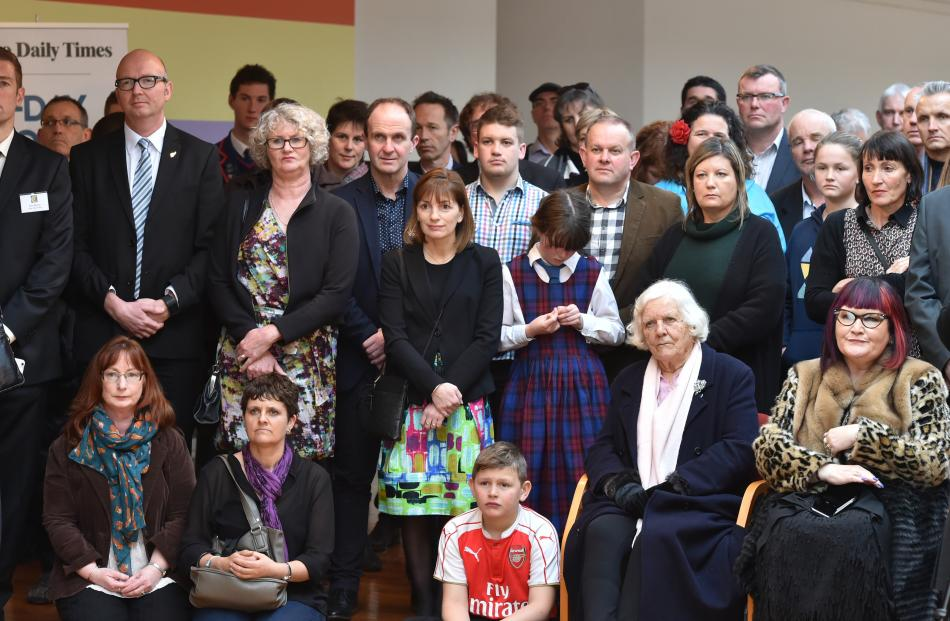 Some of those attending Class Act 2016 at the Dunedin Public Art Gallery yesterday.