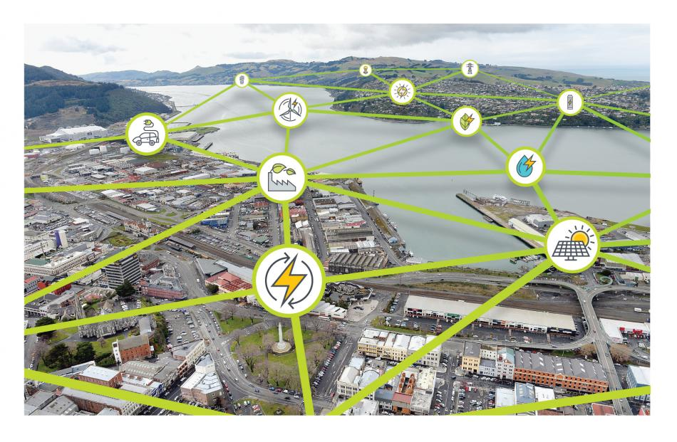"""The Government has a target of 90% renewable electricity generation by 2025. Locally, Dunedin has an energy plan that aims to """"boost the city's energy security and ability to adapt to change"""". Graphic: ODT"""