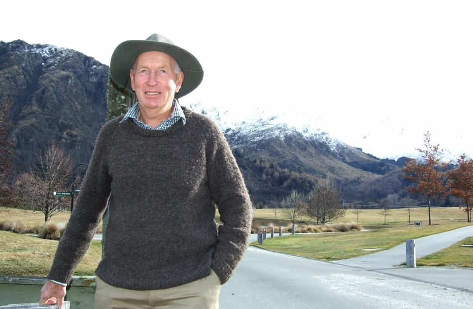 Russell Hamilton. Photo: Guy Williams.