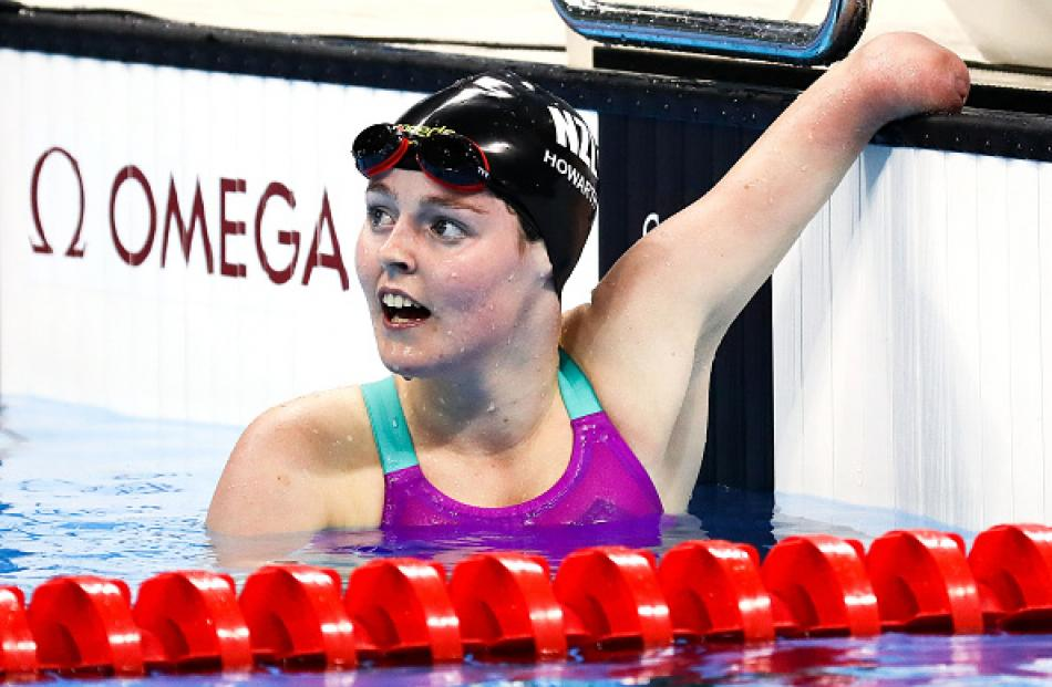 Nikita Howarth won gold this morning, her second medal of the 2016 Games. Photo Getty