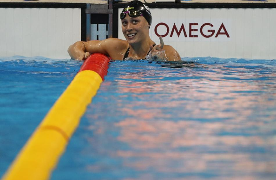 Sophie Pascoe claimed the 15th medal of her Paralympics career with silver this morning. Photo...