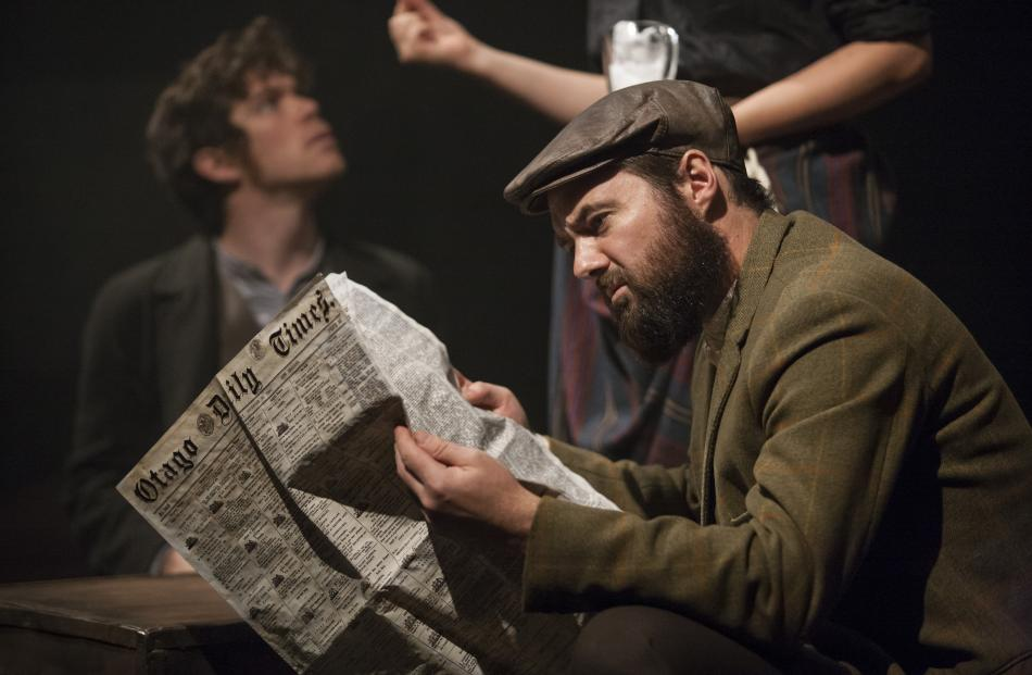 The Otago Daily Times and its then editor, future New Zealand premier Julius Vogel, play roles in...