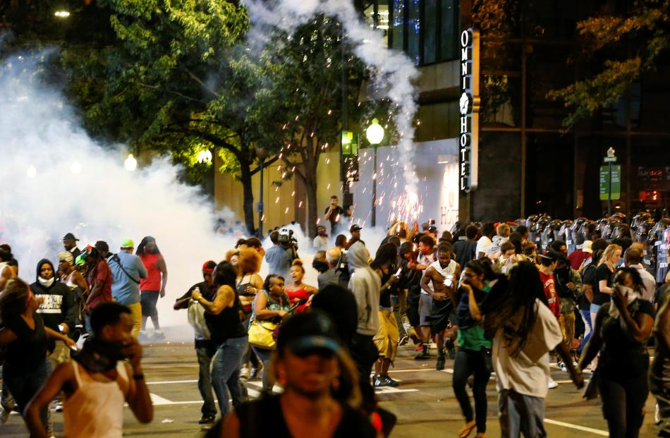 Police Shooting Sparks Protest in Charlotte