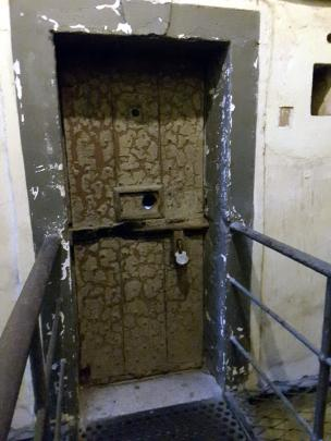 A cell in the West Wing of Kilmainham Gaol.