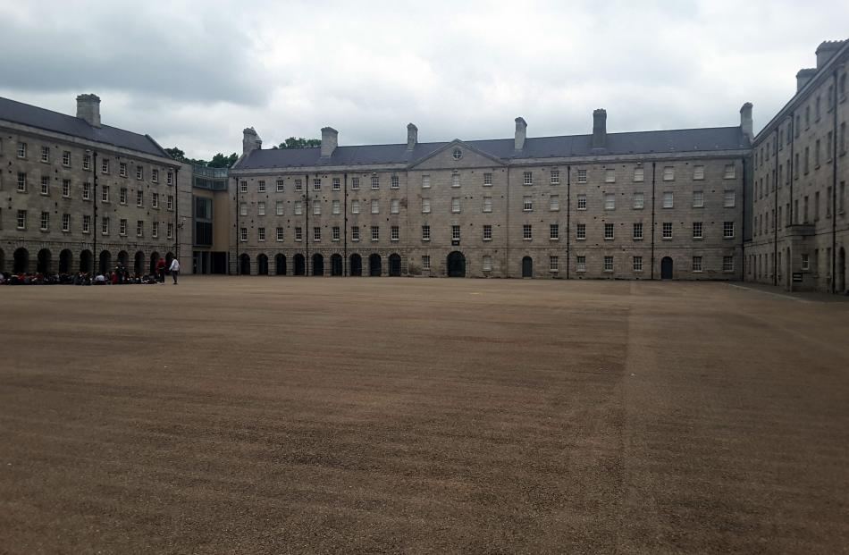 Collins Barracks is a vast former military complex now part of the National Museum....
