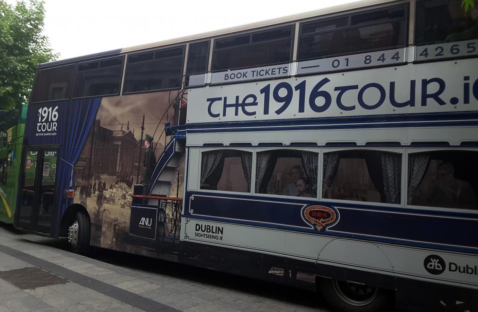 The 1916 Tour Bus.