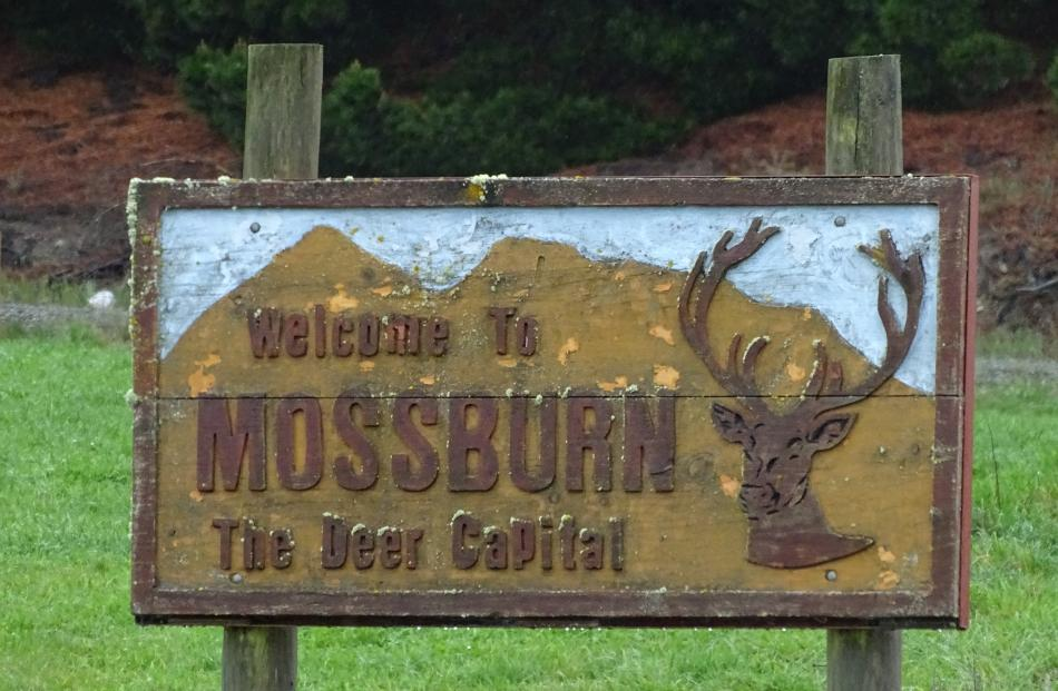 Mossburn is known as the ``Deer Capital of New Zealand''.
