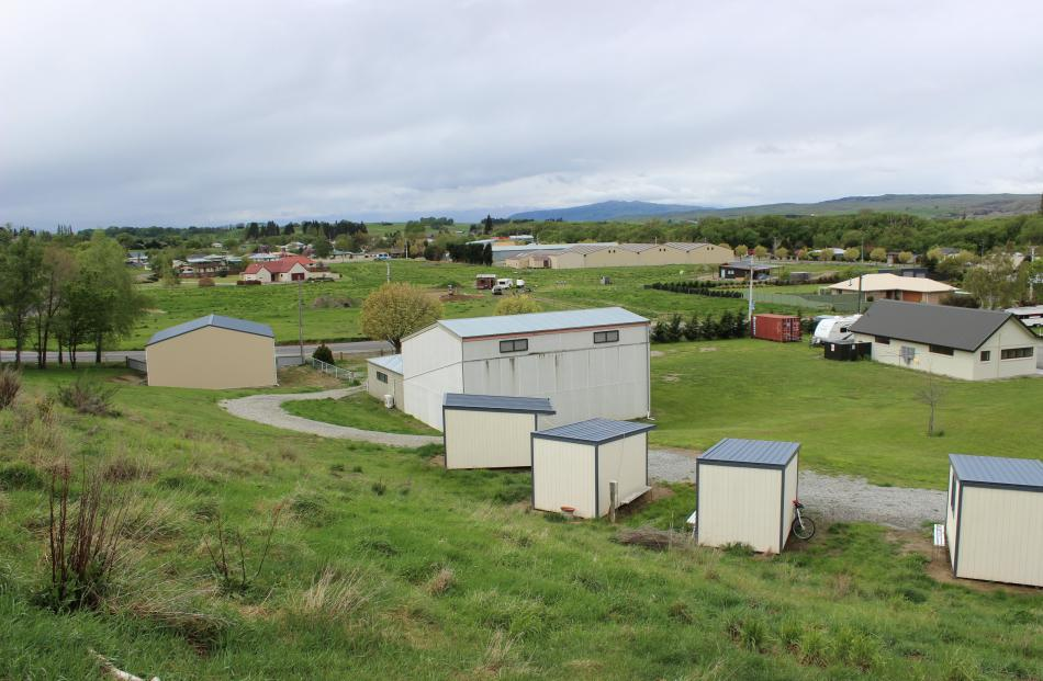 The Central Otago town of Omakau.