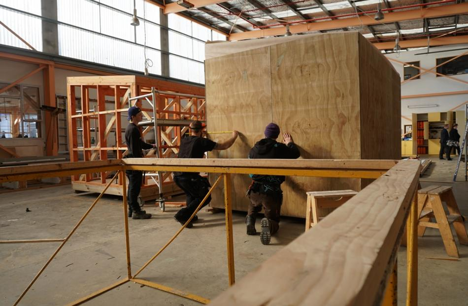Man Cave Trade Show : Building the man cave and she shed otago daily times