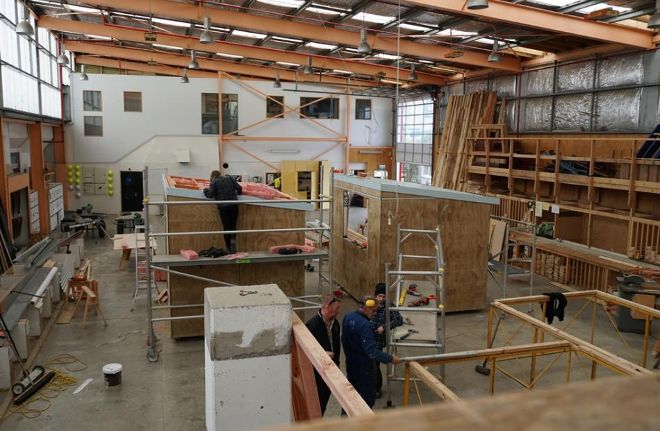 building the man cave and she shed | otago daily times online news