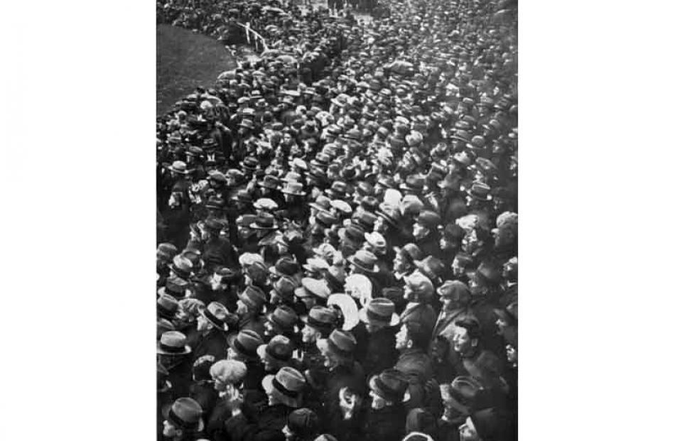 1930: Britain v New Zealand.