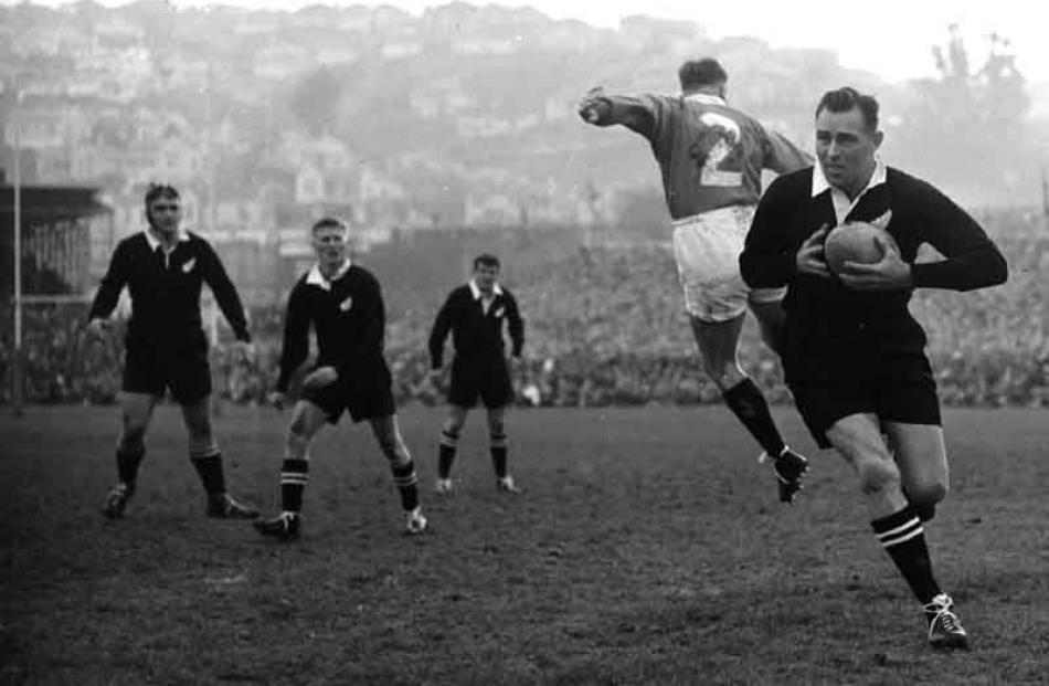 1959: All Blacks v Lions.
