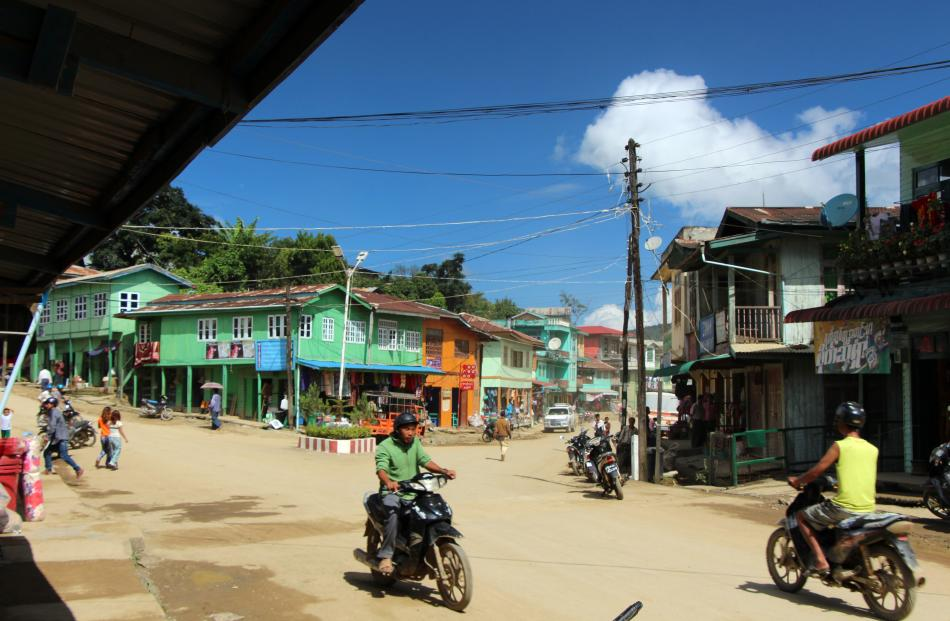 Only 30km from the India border, Thantlang township, Chin State, Myanmar, has a frontier look and...