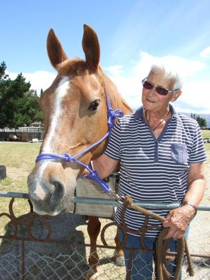 Jeanette McKay is preparing to take part in her 25th Otago Goldfields Cavalcade. Photo: Lynda van...
