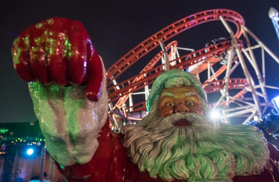 Winter Wonderland is an annual event in London's Hyde park. Photo: Getty Images