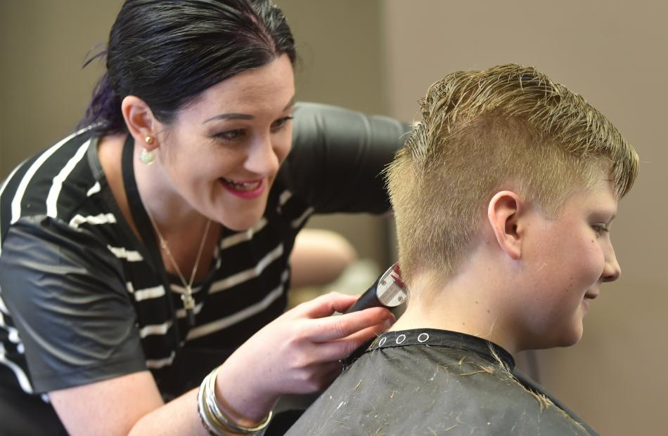 Hairstyles helping support the needy | Otago Daily Times ...