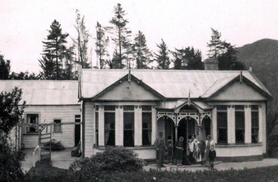 The Martin homestead, which started out as a two room hut. Photo supplied.
