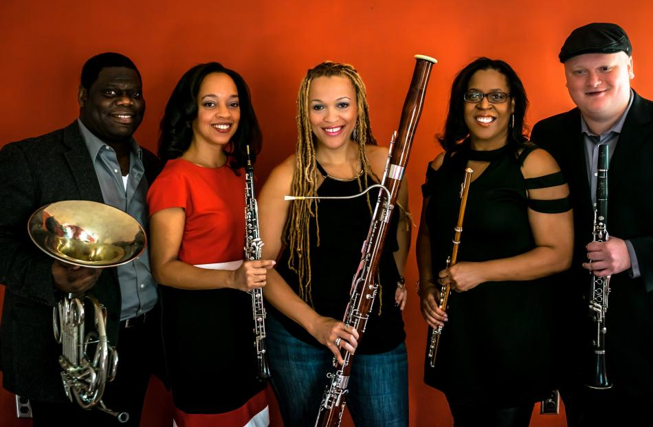 Grammy-nominated United States wind quintet Imani Winds.Photo by Pierre Lidare.
