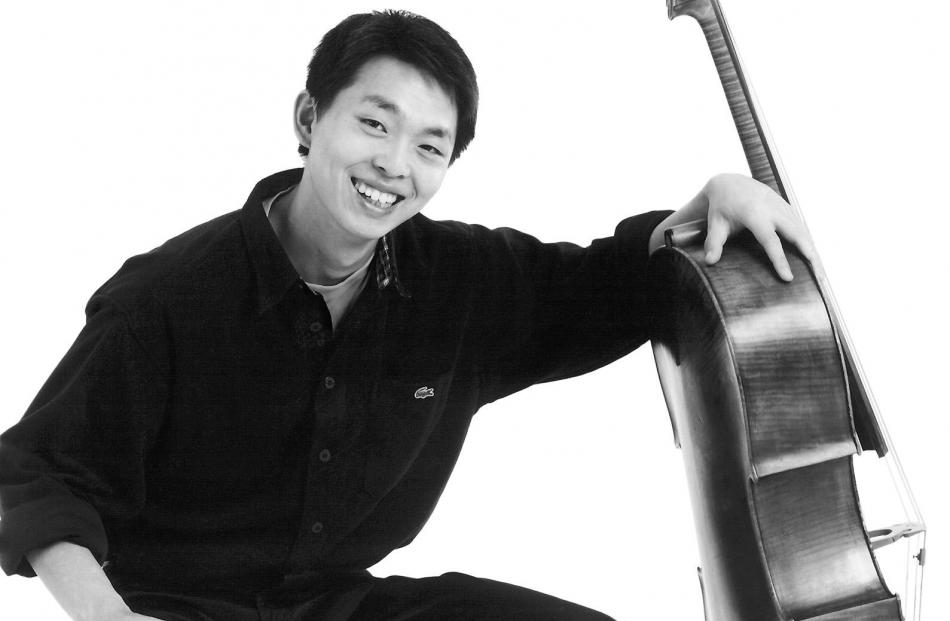 Chinese cellist Li Wei Qin.