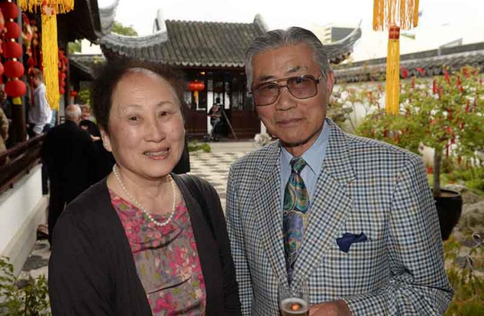 Eva Ng of Dunedin and Dr Sun Chau of Auckland