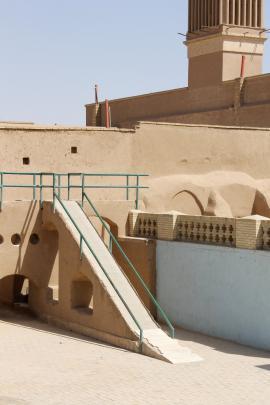 A children's playground in old Yazd.