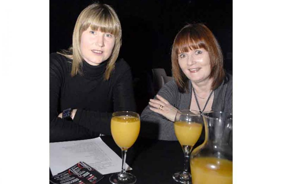 From left, Bridget Windle and Rowena Taylor, both of Gore.