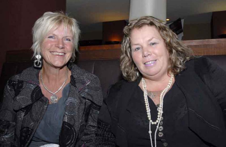 From left, Linda Herdman, of South Hillend and Wendy Clark, of Hedden Bush.