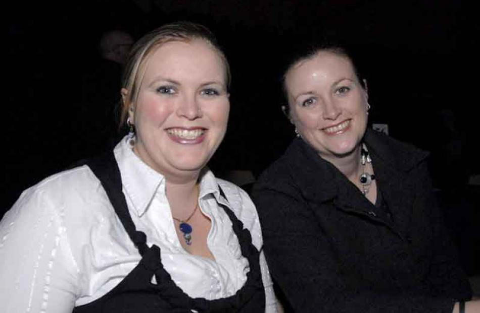 Vicky McClymont, of Cromwell, and Sonia Dillon, of Riversdale.