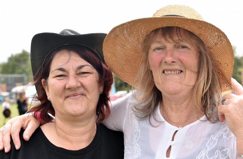 Tanya McLanachan, of Waitati, and Beth Yoman, of Dunedin.