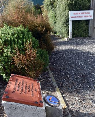 The Poetry Trail is a 10th anniversary gift from the Back Beach Writers' Group to the community.