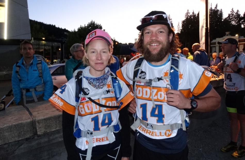 Ethel Murphy and Steve Mosley, of Otago Minions.