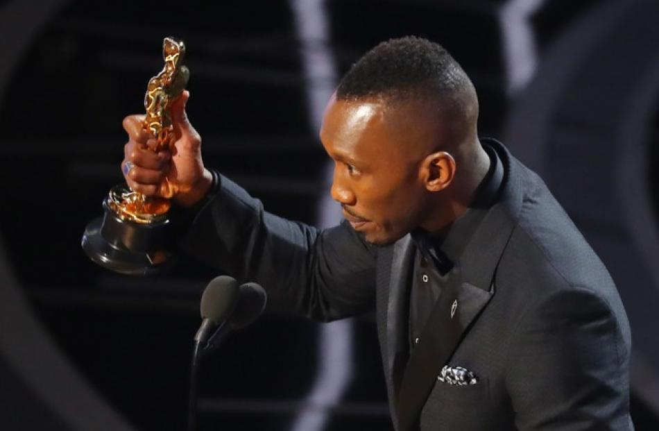 "Best Supporting Actor winner Mahershala Ali for ""Moonlight"". Photo: Reuters"