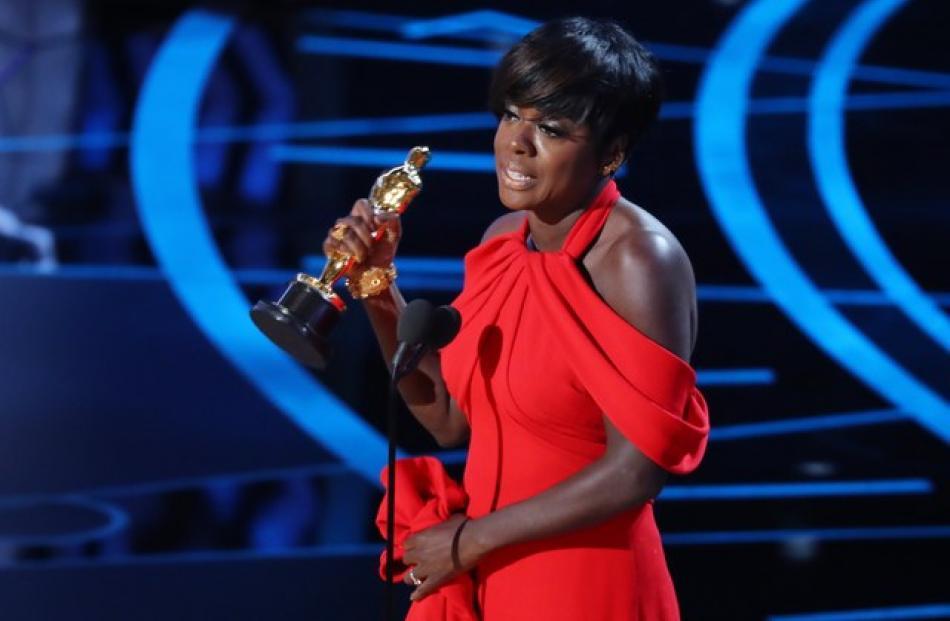 Viola Davis wins first Oscar for 'Fences', Photo: Reuters