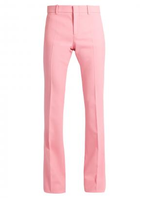 Gucci Flared Wool-Blend Trousers $880