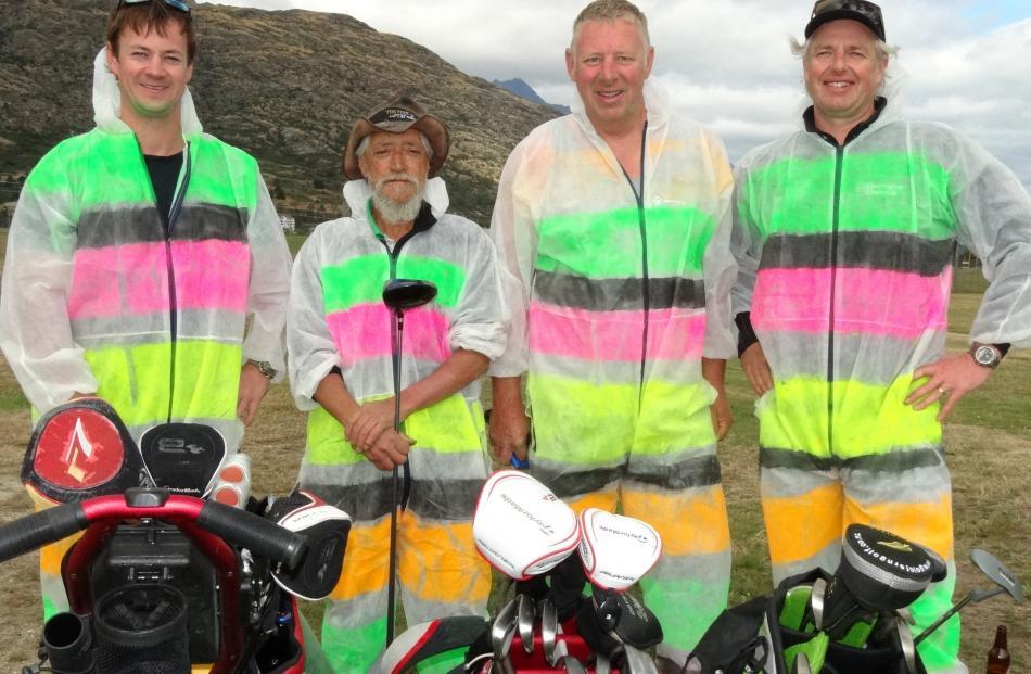 Nik Woodward, of Sydney, Sam Wallace and Tony Harrington, both of Arrowtown and Paul Hutchinson,...