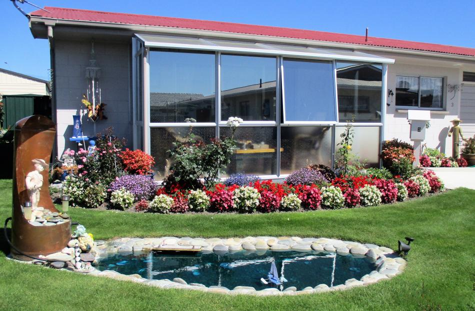 Daphne and Maurie Beuth have lived in this Oamaru property for only 18 months and have been `...