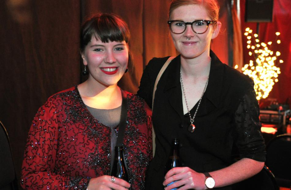 Claudia McNab and Lucy Reid, of Dunedin.