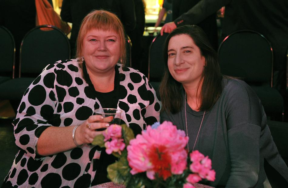 Rebecca WiIlliams and Maria Ioannou, of Dunedin.