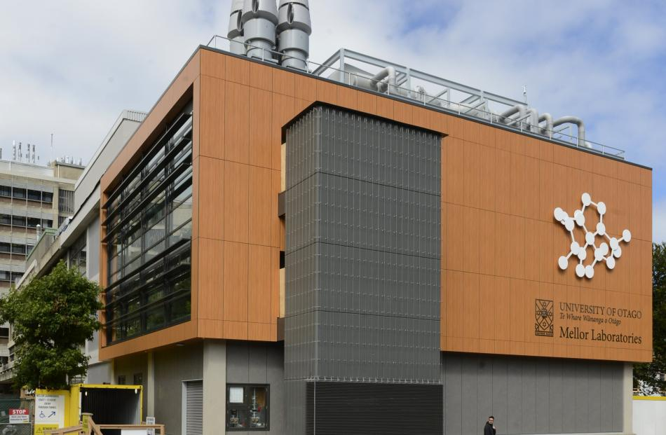 The University of Otago's Mellor Laboratories building on Cumberland St. Photos:Gerard O'Brien.