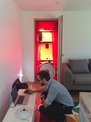 The airtightness of the home was verified with ''blower door'' tests, which involved fitting a...